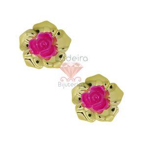 FLOR-COM-FURO-EM-BASE-43MM-EM-ACRILICO-COM-50-PECAS-007---ROSA-PINK