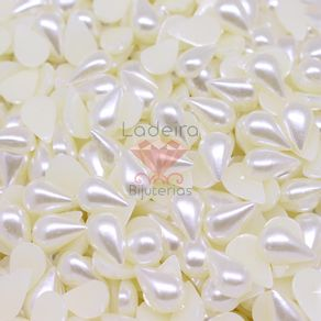 MEIA-PEROLA-PARA-COLAGEM-GOTA-8X13MM-EM-ABS-COM-500GR-224---PEROLA-224