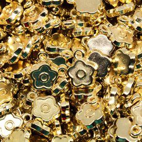 PINGENTE-FLOR-11MM-EM-ABS-COM-250GR---073---DOURADO-073